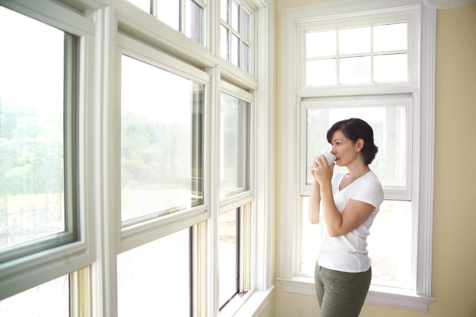 How long do double glazed windows last? Visible damage
